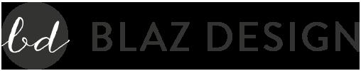 Blaz Design Retina Logo