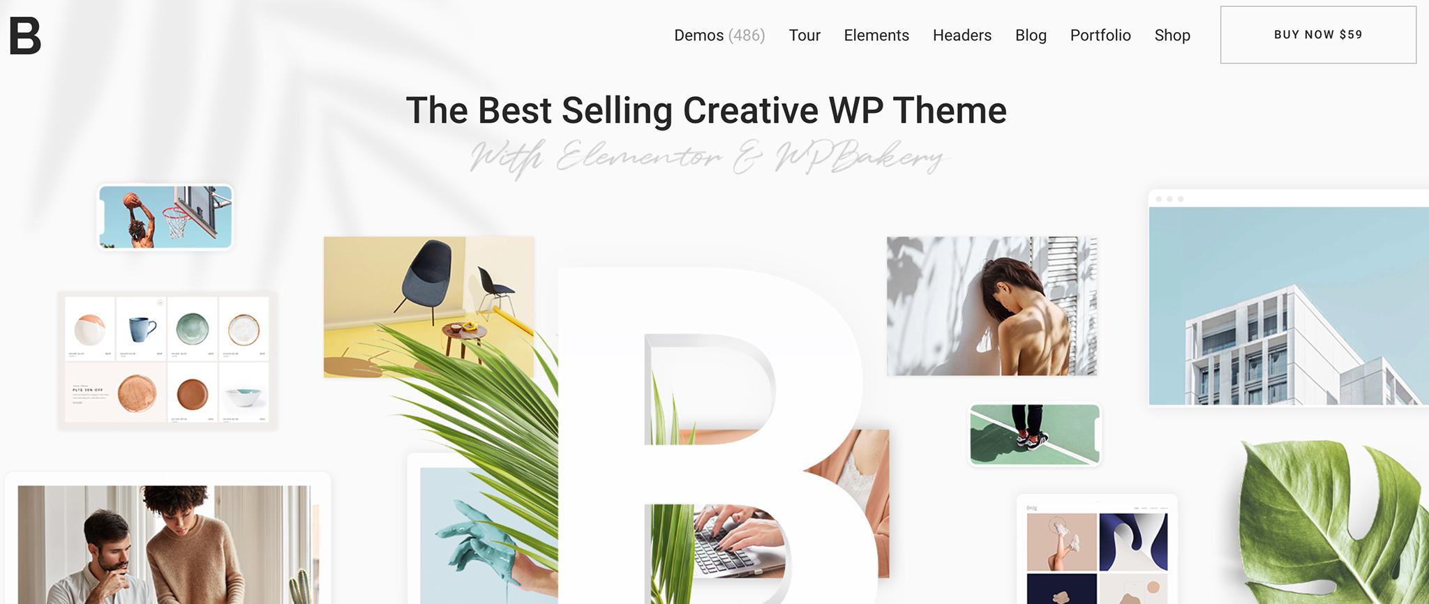 Bridge Premium WordPress Theme