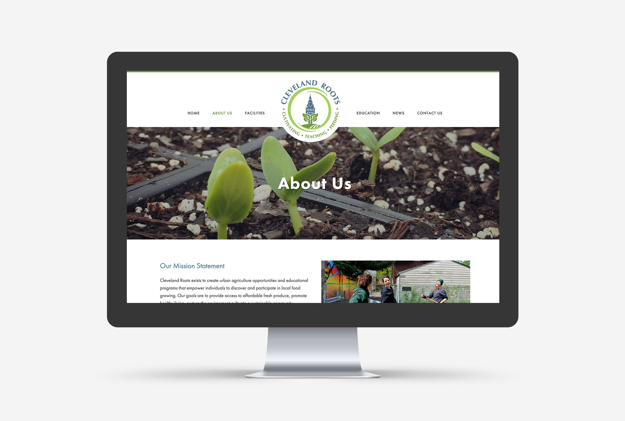 Cleveland Roots Small Business WordPress Web Design