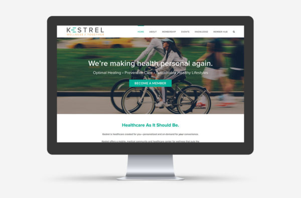 Kestrel Wellness Small Business WordPress Web Design