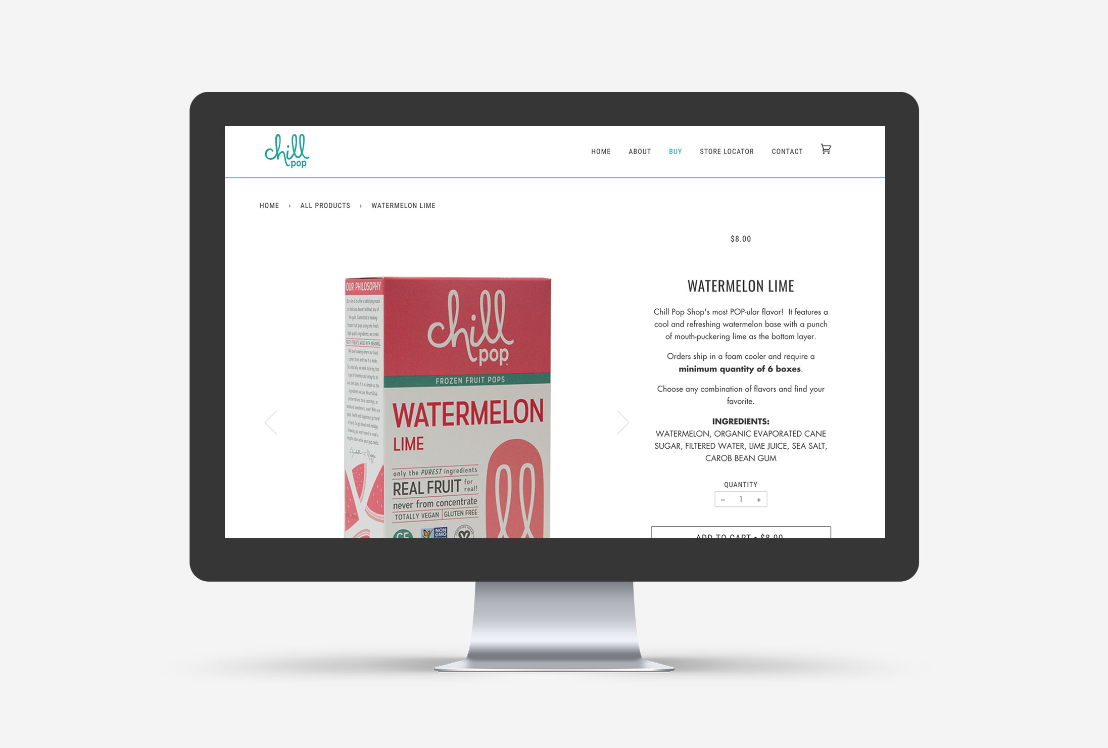 Chill Pop Shop Cleveland Shopify Web Design