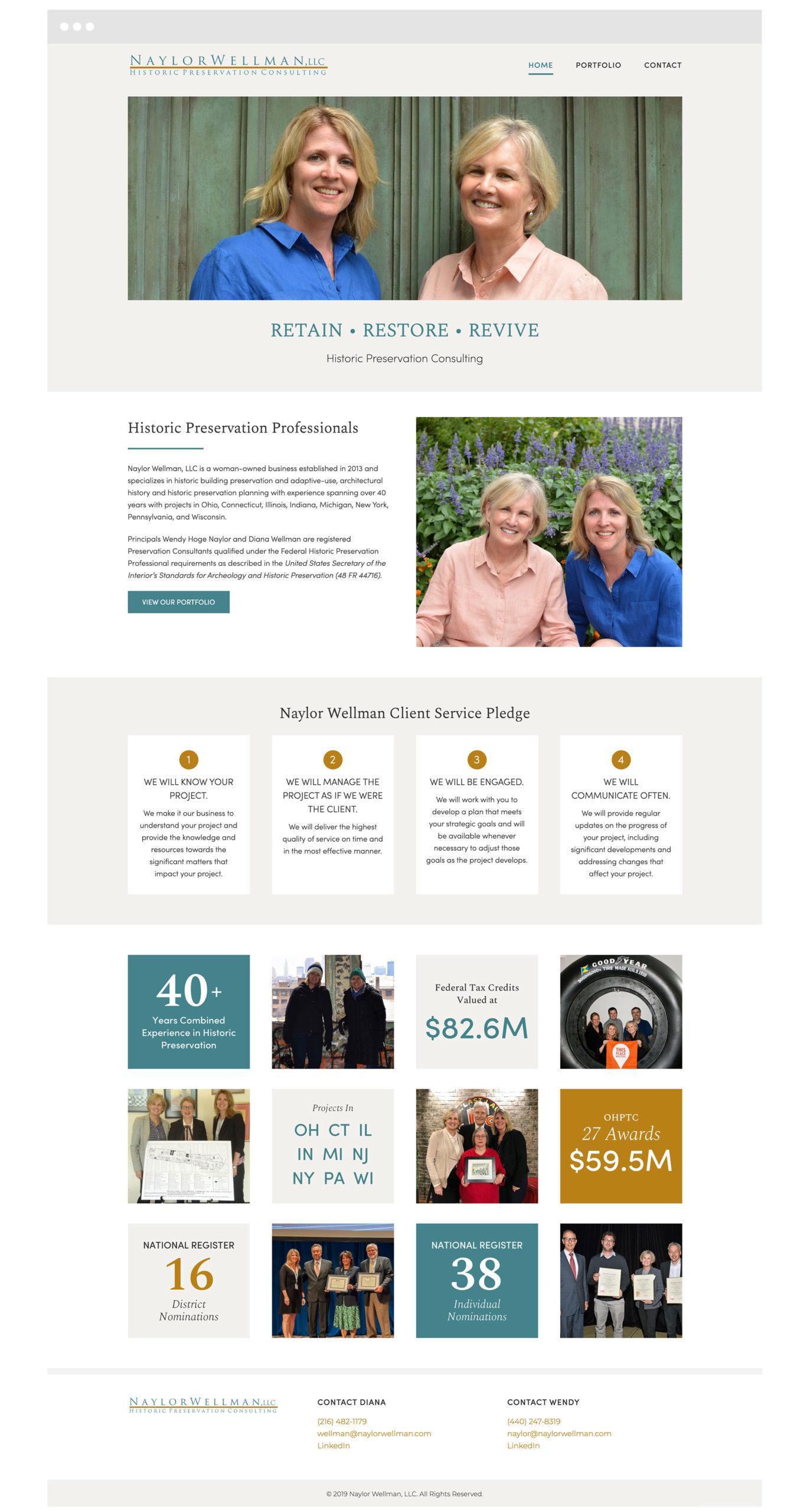 Naylor Wellman Cleveland WordPress Web Design