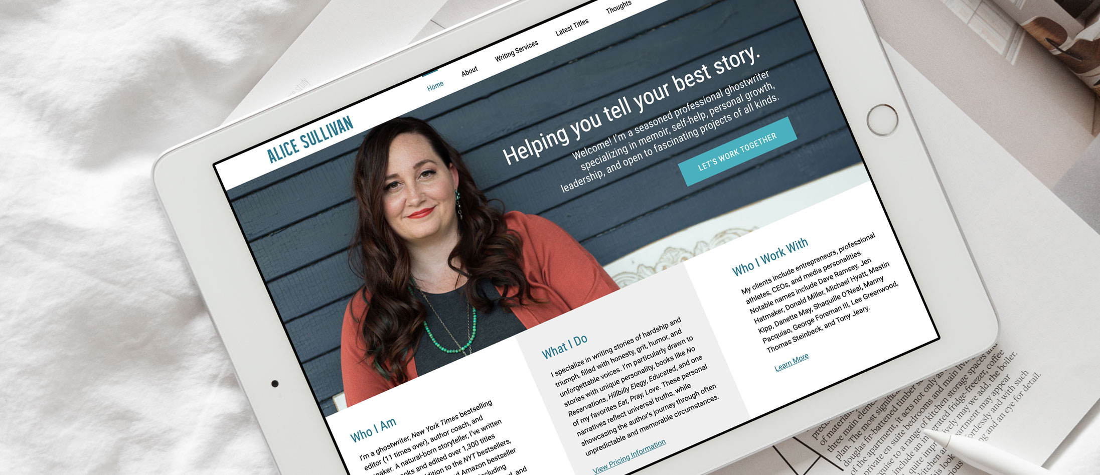 Alice Sullivan Cleveland WordPress Web Design