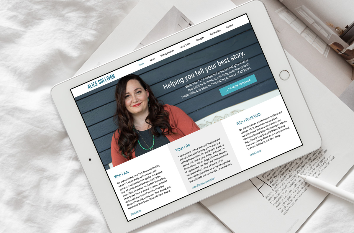 Alice Sullivan Cleveland WordPress Website Design